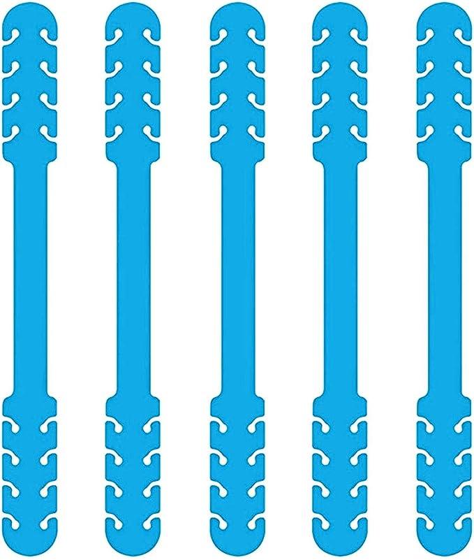 BESPORTBLE 4 St/ücke Mundschutz Lanyard Umh/ängeband Anti Lost Gesichtsschutz Strap Extender Verstellbares Neck Rope Neckholder Sicherheitsschutz Halter Seil Schwarz