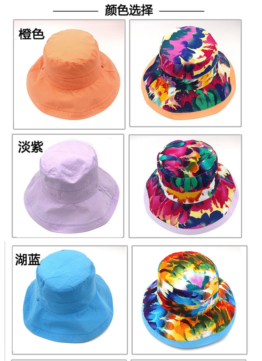 YXLMZ - Sombreros de Doble Cara para Mujer, diseño de Flores ...