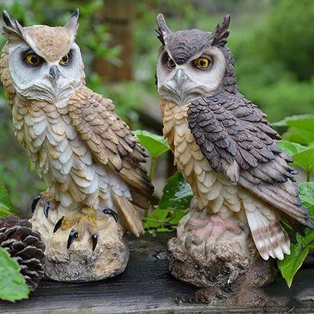 ZMD Estatuas De Jardín Césped, Y Decoración del Hogar Escultura De Árbol De Exteriores, Diseño De Jardín Decoración Césped Y Jardín Al Aire Libre Decoración Estatua: Amazon.es: Hogar