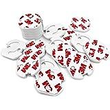 CalMyotis® 20 Stück Kindersicherheit Steckdosenschutz für Kindersicherung- Die einfachen Kindersicherungen zum Kleben