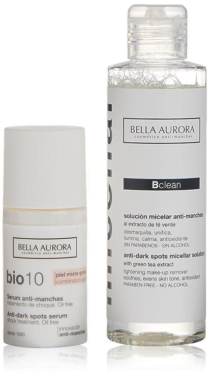 Bella Aurora Bio-10 Antimanchas Pieles Mixtas o Grasas Serum + Solución Micelar - 1