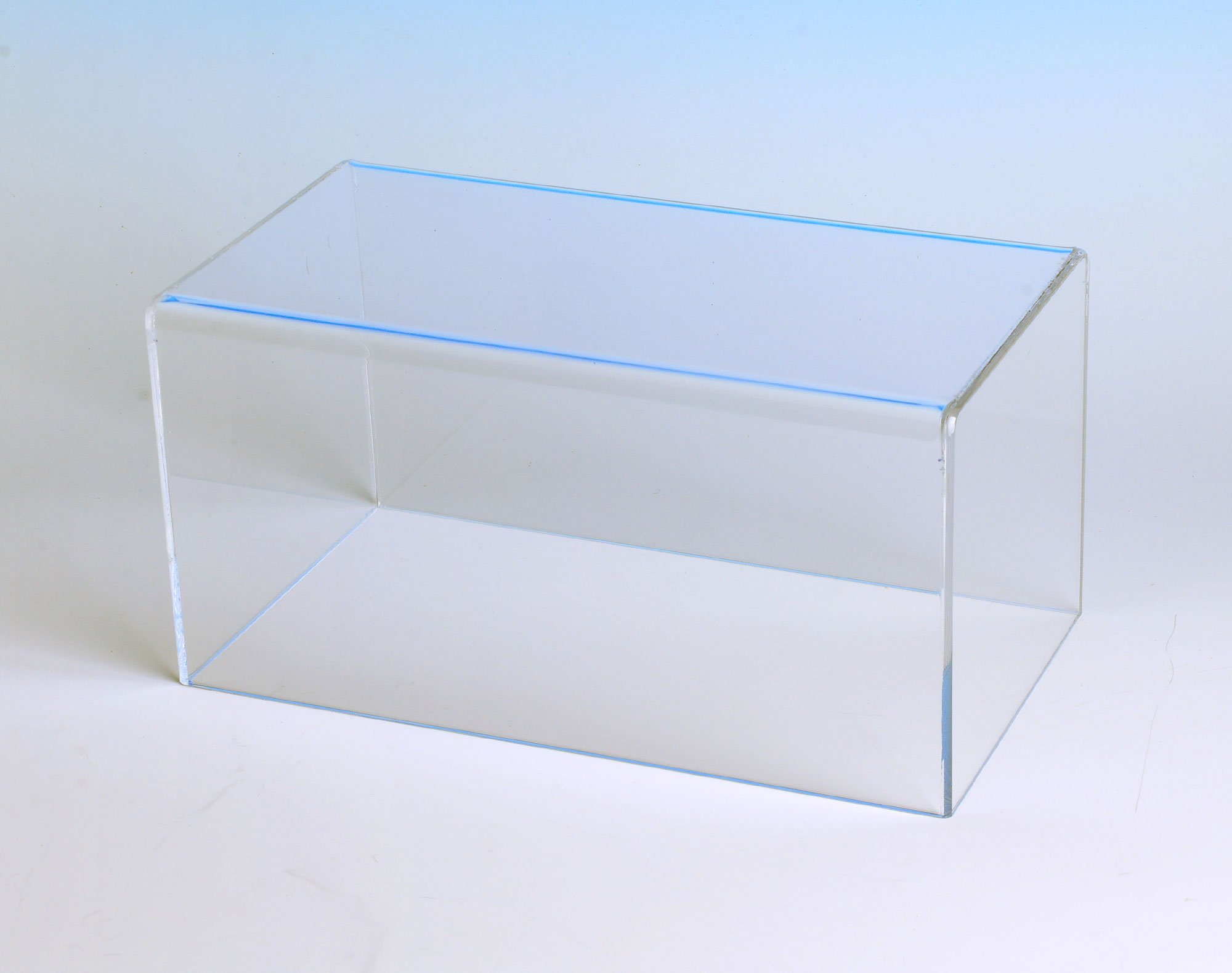 Rectangular Box Case | 5 Sided Display Box with 1 Open Side | Measures 9''H x 20''W x 12''D by Choice Acrylic Displays