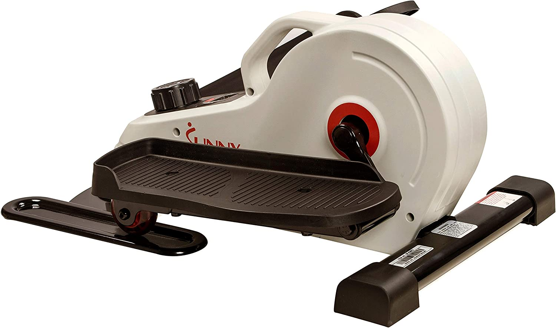 Sunny Health & Fitness Magnetic Under Desk Elliptical Foot Pedal Exerciser