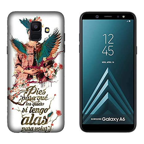 Funda Galaxy A6 Carcasa Samsung Galaxy A6 Frida Kahlo ¿Por ...