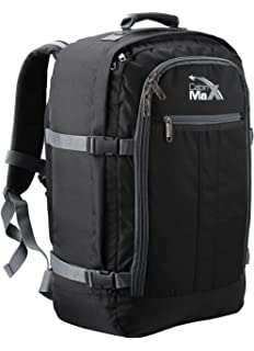 Cabin Max Backpack Flight Approved Carry On Bag Massive 44 Litre Travel  Hand Luggage 55x40x20 cm 8bf278bad3b94
