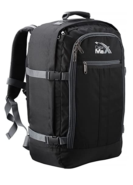 47c1a5217ea6 Cabin Max Backpack Flight Approved Carry On Bag Massive 44 Litre Travel  Hand Luggage 55x40x20 cm