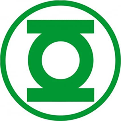 Amazon Green Lantern Logo Decal Automotive