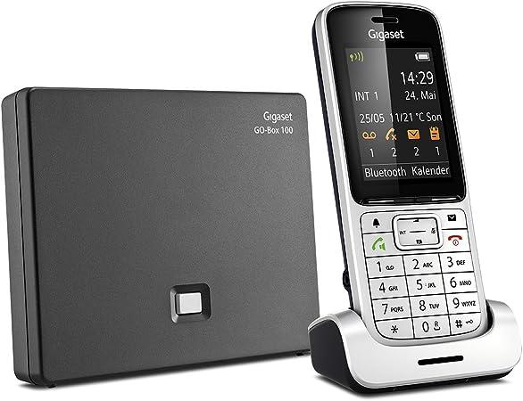 Gigaset SL450A GO Negro, Plata Identificador de Llamadas: Amazon.es: Electrónica
