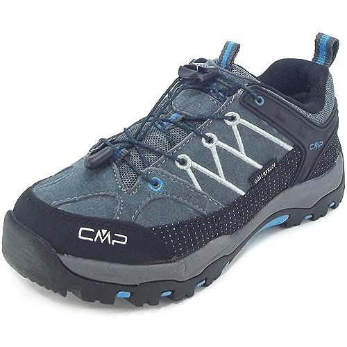 CMP Kids Rigel Low, Zapatillas de Trekking Unisex Para Niño, Gris (Gris/