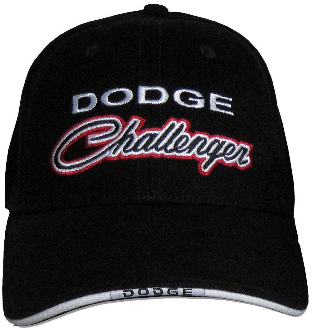 Dodge CHALLENGER Classic Car Fine Embroidered Hat Cap, Black