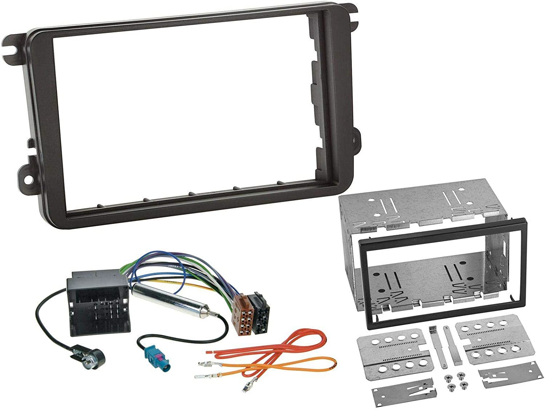 Radioeinbauset Für Doppel Din Autoradio In Vw Caddy Elektronik