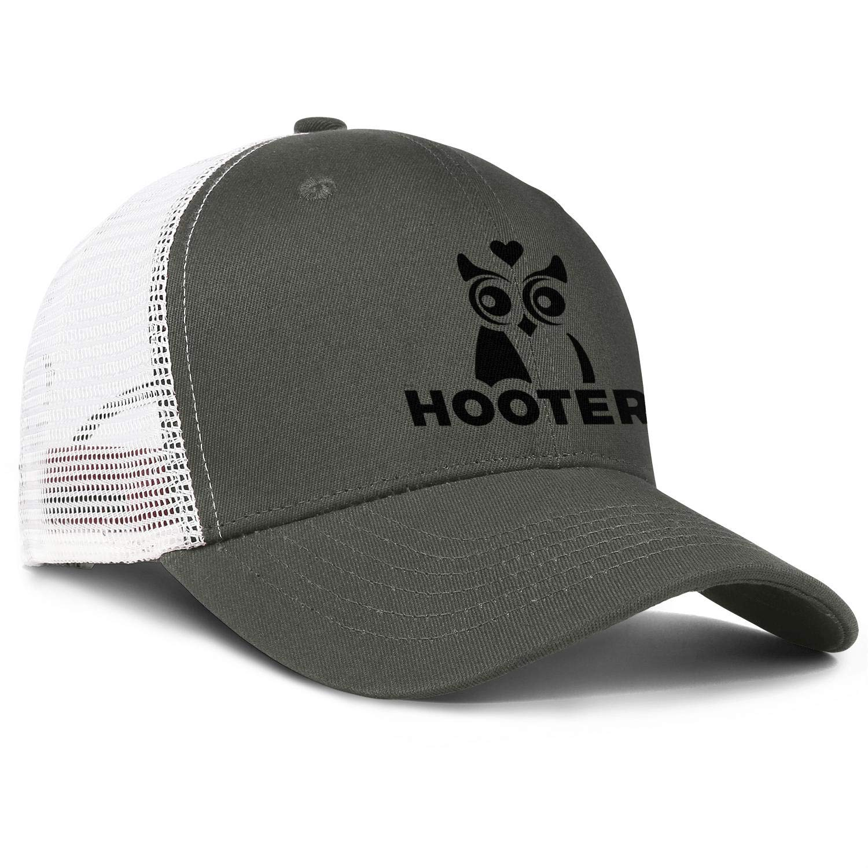 WintyHC Hooters Logos Cowboy Hat Trucker Hat One Size Skull Cap