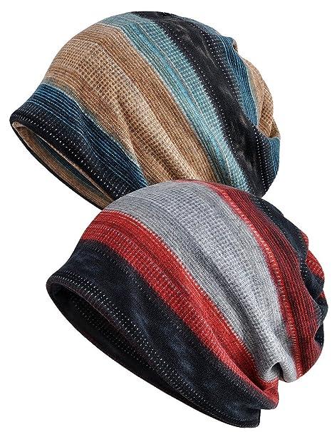 d5a6e6b8f8b Luccy K Womens Cotton Chemo Hat Beanie Scarf - Beanie Cap Bandana for Cancer