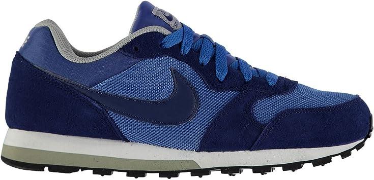 Nike MD Runner con Textura Zapatillas de Running para Hombre Azul ...