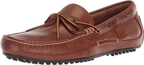 Polo Ralph Lauren - Mocasines para Hombre marrón Polo Tan: Amazon ...
