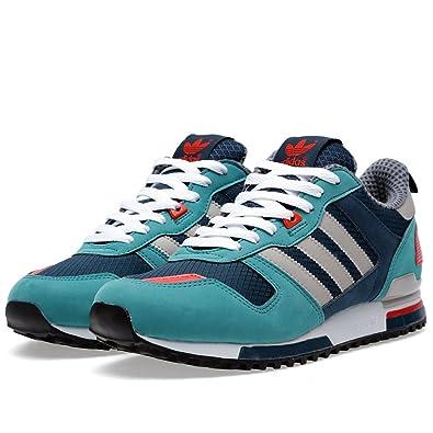 00c826818 adidas ZX700 Petrol Green Mens Nubuck mesh Running Sports Trainers G96520   Amazon.co.uk  Shoes   Bags