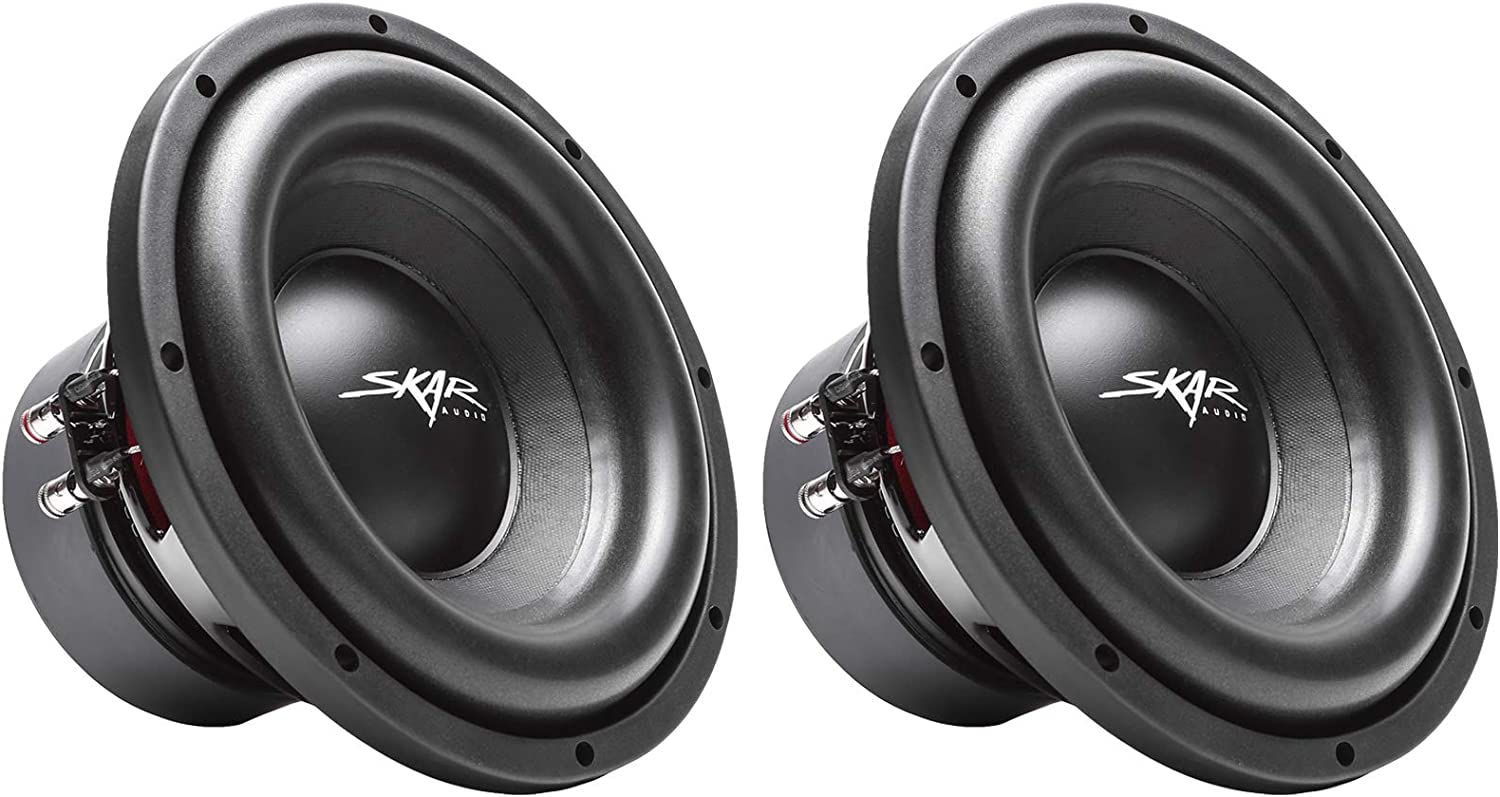 "(2) Skar Audio Sdr-10 D2 10"" 1200W Max Power Dual 2 Ohm Car Subwoofers, Pair of 2 712BmKLsGvfLSL1500_"
