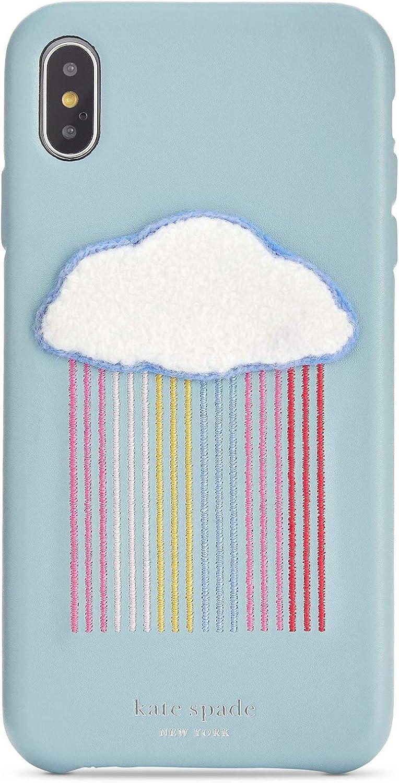 Kate Spade New York Women S Rainbow Cloud Patch Phone Case For Iphone Xr Multi One Size Schuhe Handtaschen
