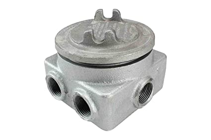 Explosion Proof Junction Box - 3/4-inch Hubs - 7 Openings
