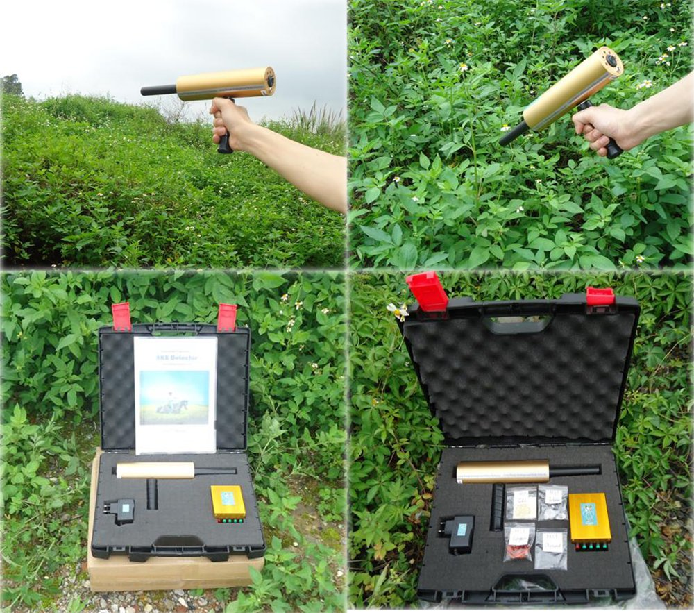 Aks Metal Detector 3d Gold Machine Long Range Professional Diamond 2016v Treasure Finder Scanner Locator Underground Hunter Detectors