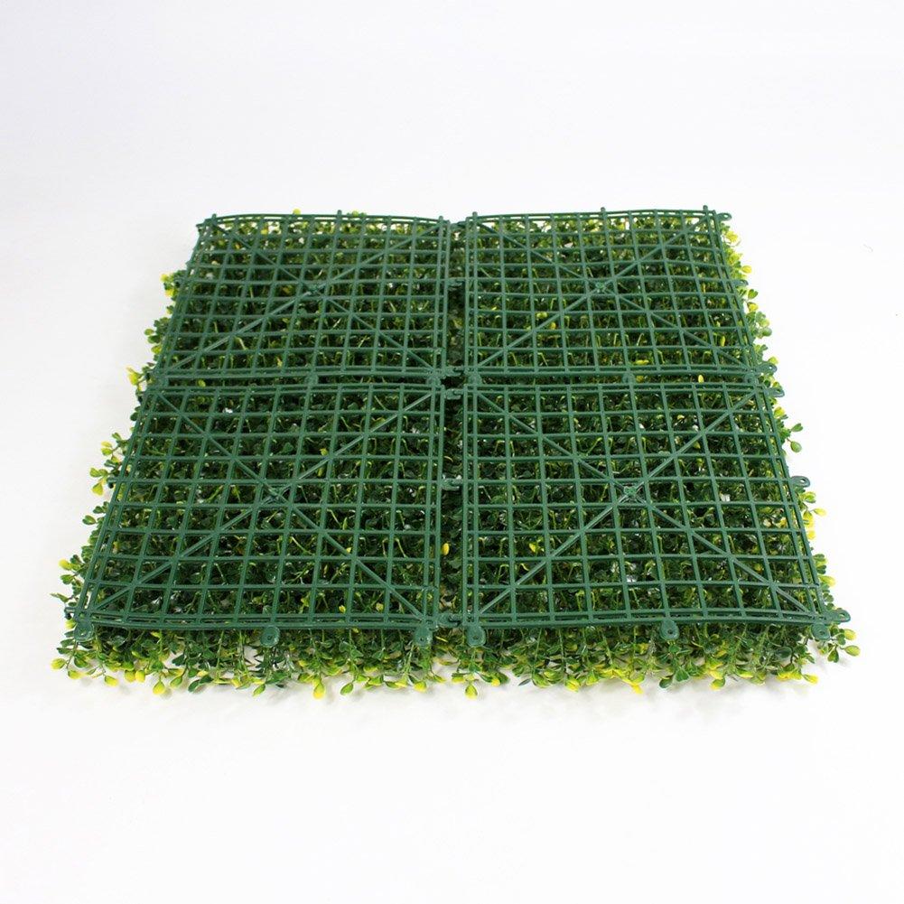 Uland Greenery Wand Kunstleder Buchsbaum Sichtschutz Zaun