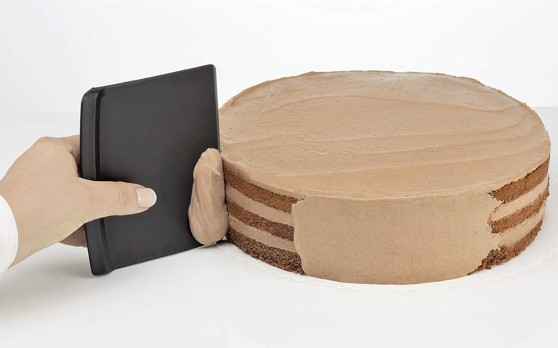 3-Einheiten K/üchenprofi Teigschaber-Set-KP805820003 Teigschaber-Set 18//8 Edelstahl Bunt One Size