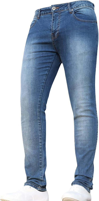 Denim /& DYE Boys Stretch Slim Fit Denim Elasticated Waist Jeans Pants Trousers JEANBASE