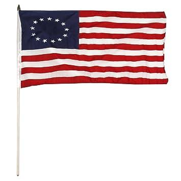 BETSY ROSS bandera de Stick 12 ...