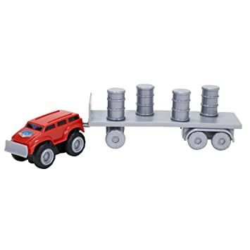 Max Tow Truck Mini Haulers Tow And Go Packs Red Push Truck With