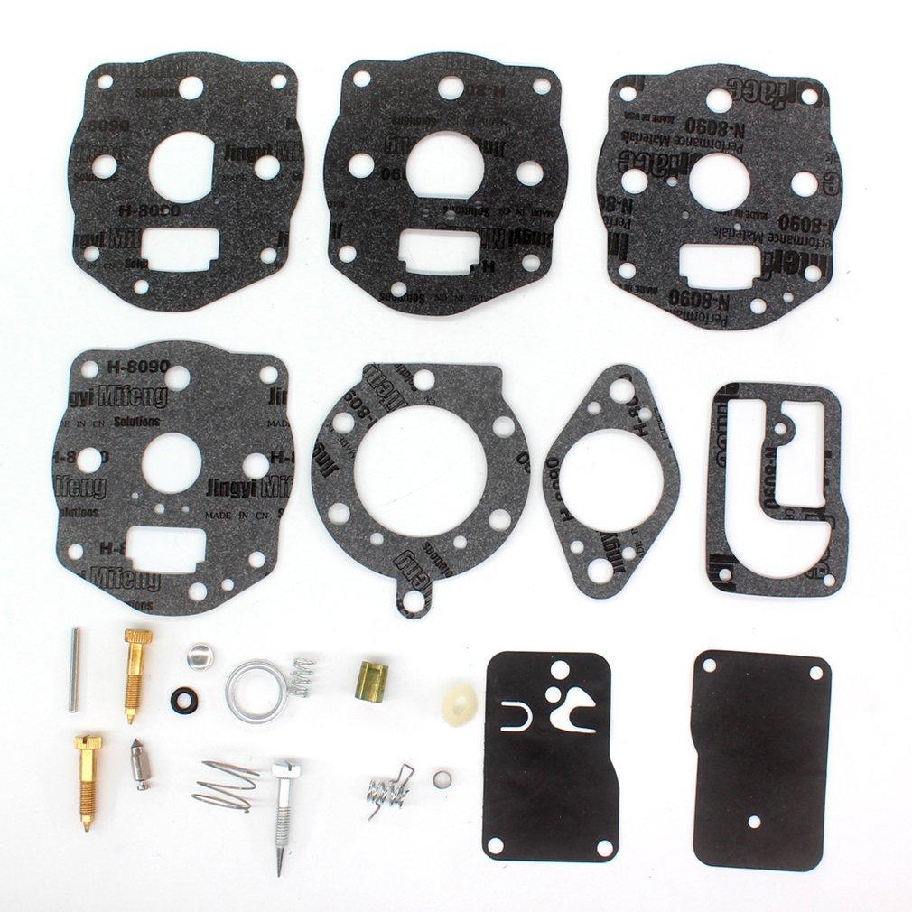 AISEN Carburetor Rebuild Repair Overhaul KIT for Briggs & Stratton 394502 491539 694056 402447 402451 402707 422437 422442 422445 460777 461707 461777