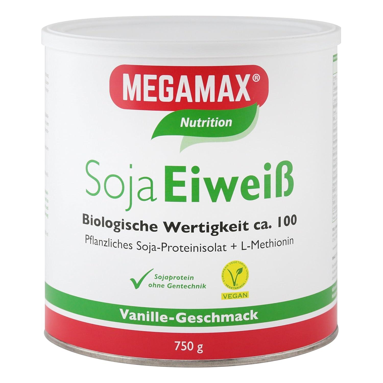 MEGAMAX - Soja Eiweiß - Proteínas de soja - Crecimiento ...