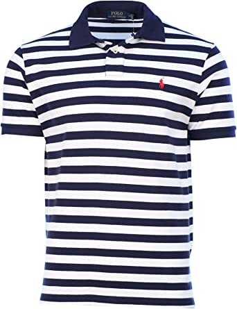 Polo Ralph Lauren – hombre Custom Fit POLO de rayas camiseta ...