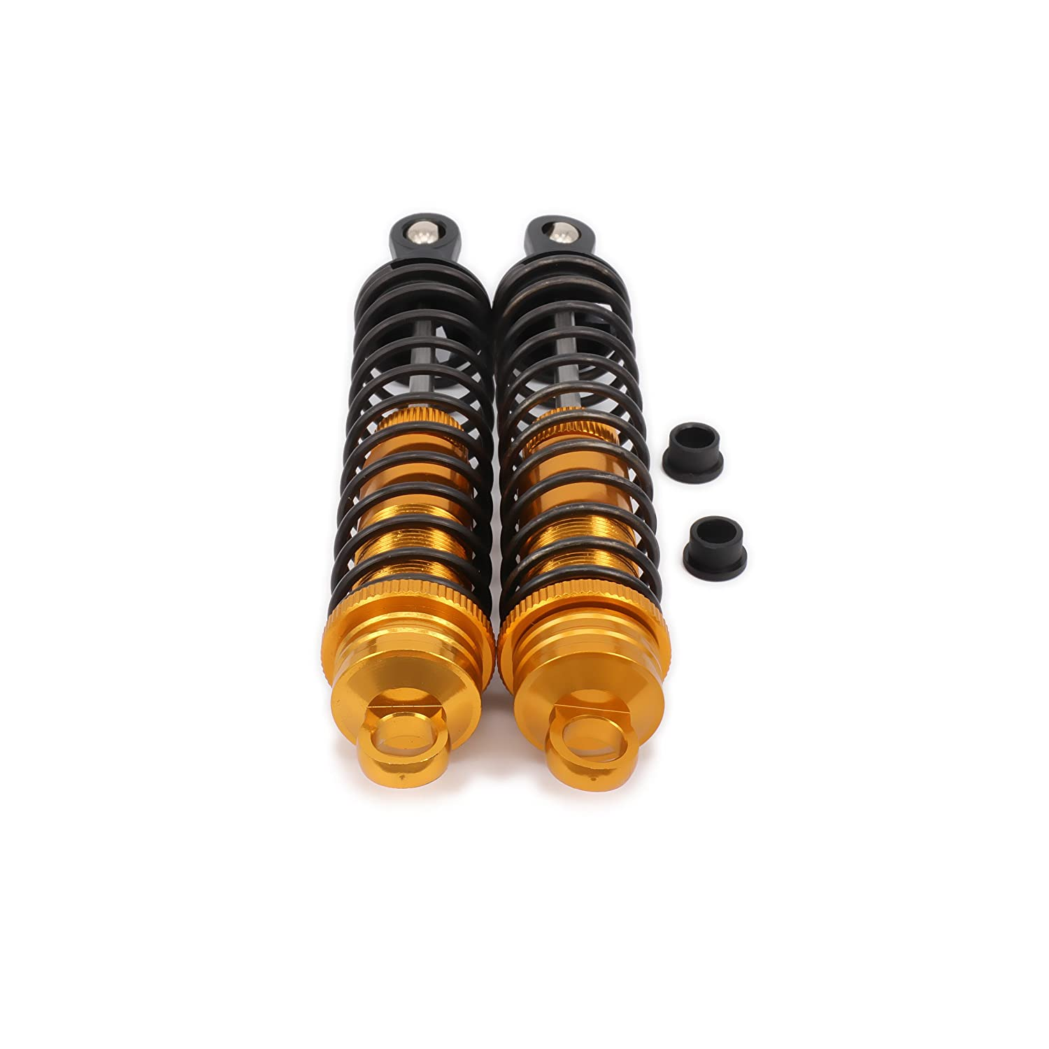 RCAWD Shock Absorber Damper 81003 122mm Oil Adjustable Aluminum for Rc 1//8 Buggy Crawler Car Upgraded Hop-Up Parts HPI HSP Traxxas Losi Axial Tamiya Himoto 2Pcs Titanium