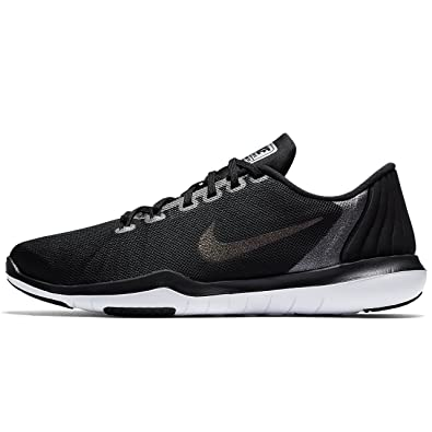 eb06729b77ecc Nike Women's Flex Supreme TR5 MTLC Black Training Shoes