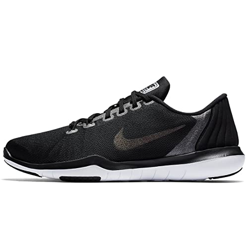 46226d3714b Nike Women s W Flex Supreme Tr 5 MTLC Black Dark Grey Multisport Training  Shoes-