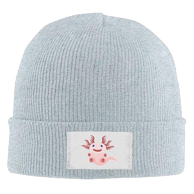 bada04a8 Unisex Cute Axolotl Adjustable Beanie Hat Hipster Head Wear Fashion ...
