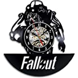 Fallout Art Vinyl Wall Clock Gift Room Modern Home Record Vintage Decoration
