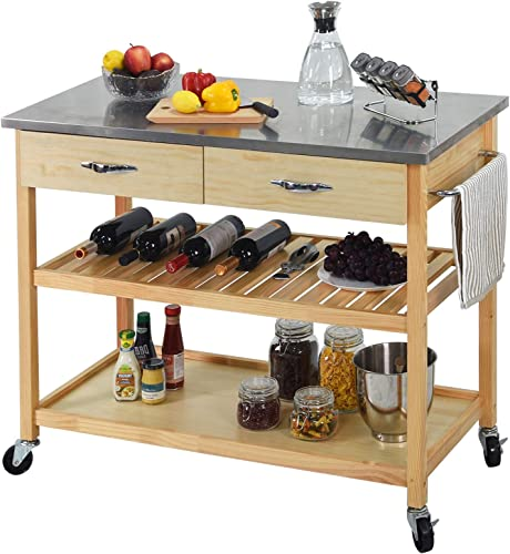 CharaVector Kitchen Islands Cart