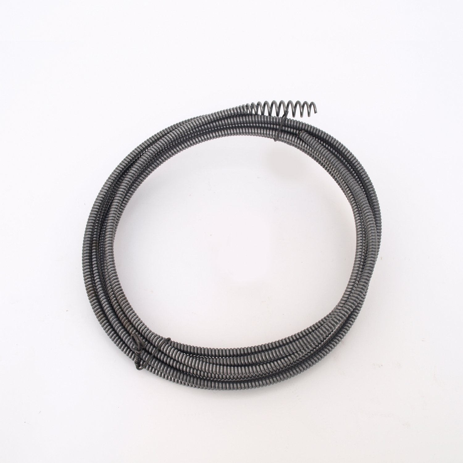 GENERAL WIRE SPRING GIDDS-214102 Pipe Cleaners Drain Cleaning Cable 1/4'' x 25', With El Basic Plug Head - 214102 by General Wire Spring