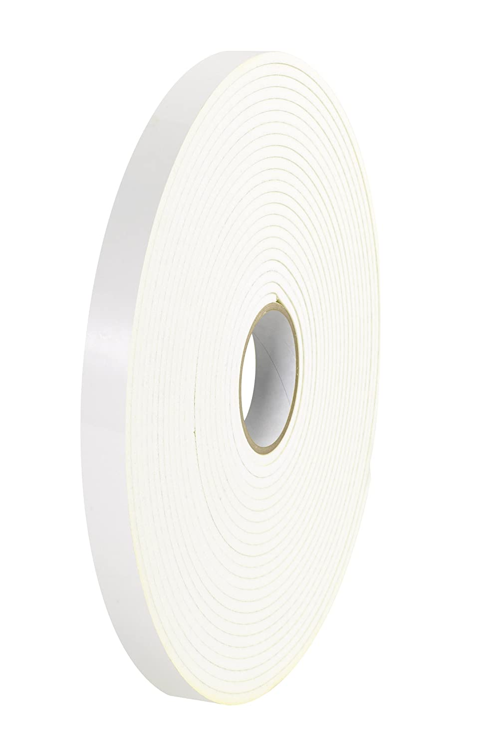 Tape Logic T959116 Polyethylene Double Sided Foam Tape, 1/16 Thick, 36 yds Length x 2 Width, White (Case of 6) by Tape Logic B00DYB0JY4