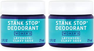 product image for FATCO Stank Stop All Natural Deodorant Cream in a Jar with Tallow and Organic Coconut Oil – Lavender + Sage 2-Pack (1 oz)