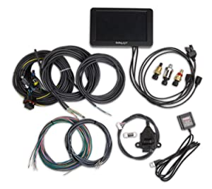 Holley EFI 553-109 Holley EFI Digital Dash 7 in. Full Color Touch Screen Multiple Gauge/Indicator Types Limitless Customization Holley EFI Digital Dash