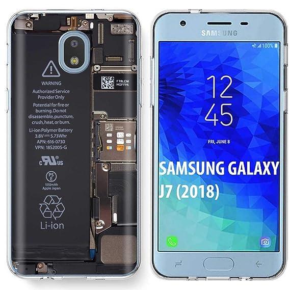 Amazon com: [SkinGuardz] Samsung Galaxy (J7 2018)/J7 Aero/J7 Refine