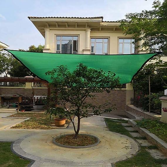 LKLXJ - Parasol rectangular para patio, 85% de tamaño completo, tela para parabrisas, toldo para plantas, panel de calidad para el sol, ideal para construir vallas de privacidad en el patio o
