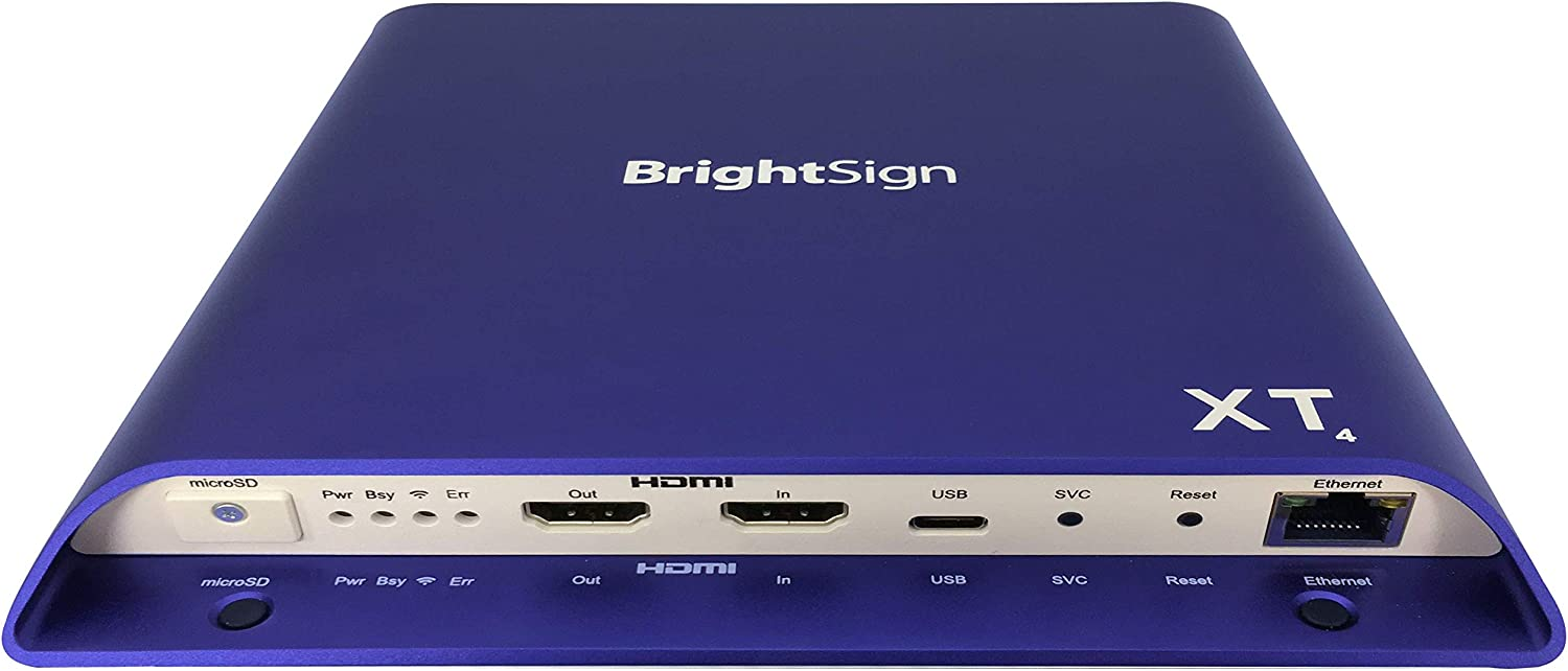 BrightSign Expanded I/O Player (XT1144)