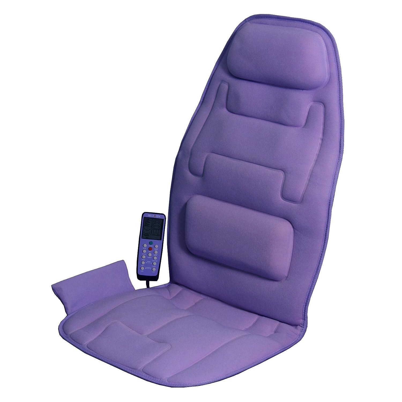 amazon com relaxzen 60 291015 10 motor massage seat cushion with