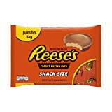 REESE'S Peanut Butter Cups, Snack Size (19.5-Ounce Bag) (Halloween Candy)
