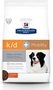 Hill's Prescription Diet k/d Kidney Care + Mobility Dog Food
