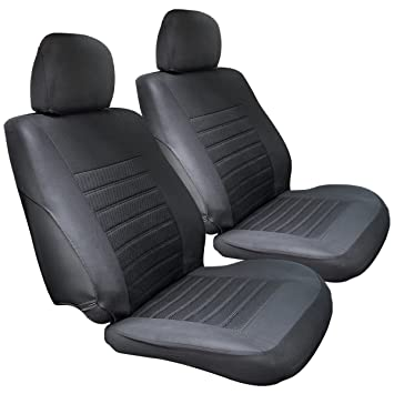 MATCC Car Front Seat Covers 2Pcs Waterproof Cover Nonslip And Breathable Van