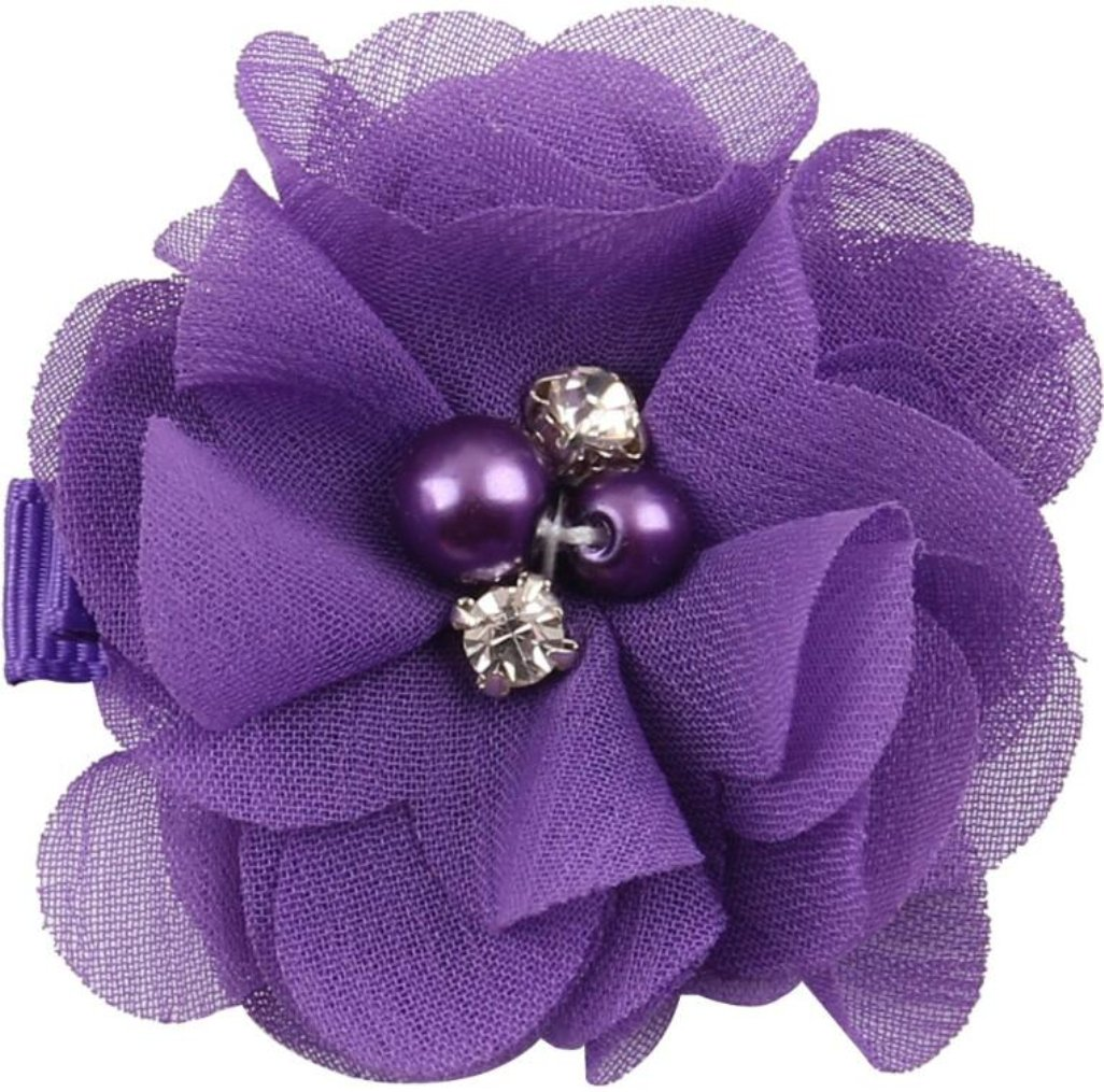 Hair Accessories Great For Fall Girls Purple Kufi Hat With Lavender Ribbon Flower And Rhinestone Baby Accessories